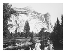 Royal Arches, Yosemite by Carleton E Watkins