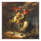 Modello For Napoleon Crossing The Alps by Jacques-Louis David