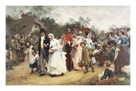 The Wedding by Sir Luke Fildes