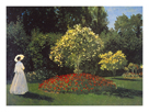 Jeanne-Marguerite Lecadre in the Garden by Claude Monet