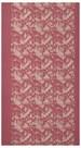 Embroidered Pink Silk Chinoiserie by Oriental School