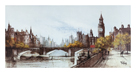 Thames Embankment by Ron Folland