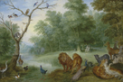 Paradise with the Fall of Adam and Eve by Jan Brueghel the Younger
