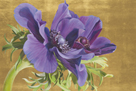 Reverence of Anemones - Gold Luxe by Sarah Caswell