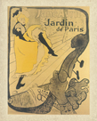 Jane Avril au Jardin de Paris by Henri de Toulouse-Lautrec