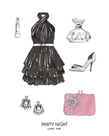 Party Night Wish List by Kristine Hegre