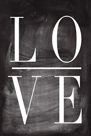 Chalk Type - Love by Stephanie Monahan