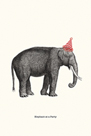 Party Elephant by Gwen Aspall