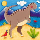 Baby Izzy The Iguanodon by Sophie Harding