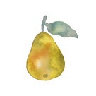 Pear Drop by Kristine Hegre