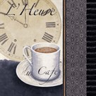 L'heure Du Cafe' by Linda Wood