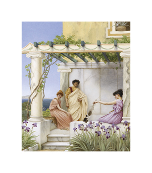 Playtime Fine Art Print by John William Godward