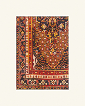 Middle Eastern Rug III Fine Art Print by Historic Collection
