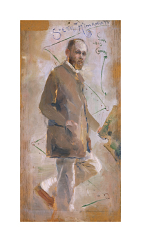 An Impressionist (Tom Roberts) Fine Art Print by Charles Conder