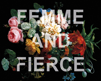 Floral Fierce Print by Rufus Coltrane