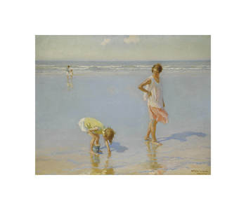 On White Sands Fine Art Print by Charles Atamian