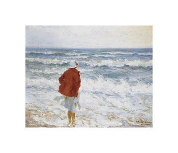 On the Seashore Fine Art Print by Charles Atamian