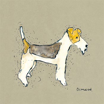 Doggy Tales I Print by Clare Ormerod
