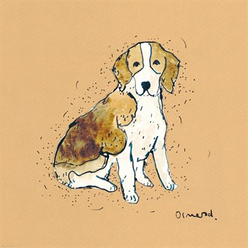 Doggy Tales III Print by Clare Ormerod