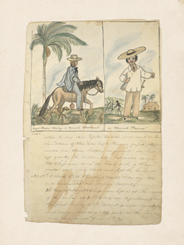 Voyages in the Americas - Spain Print by The Vintage Collection