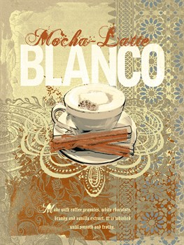 Cafe Blanco Print by Ken Hurd