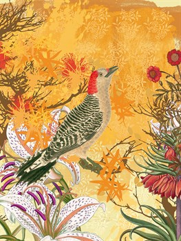 Chinoiserie I Print by Ken Hurd