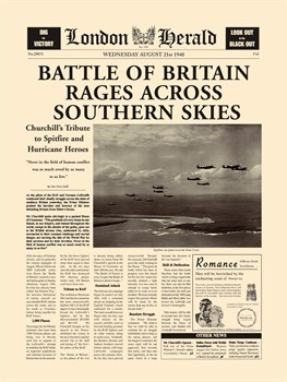 Battle Of Britain Print by The Vintage Collection