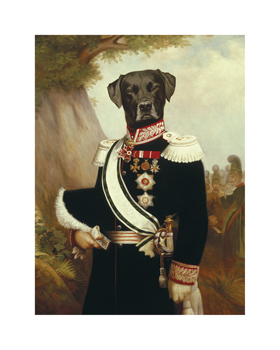 General Blackweter Fine Art Print by Thierry Poncelet
