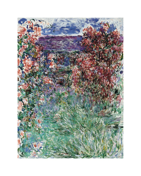 The House Among the Roses, 1925 Fine Art Print by Claude Monet