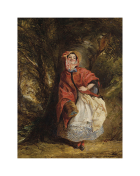 Dolly Varden, 1842 Fine Art Print by William Powell Frith