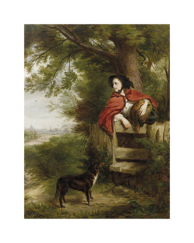 A Dream of the Future Fine Art Print by William Powell Frith