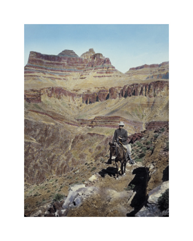 Grand Canyon National Park, 1905 by Waldemar Abegg Standard