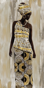 Kanga Print by Mark Chandon