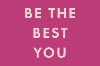 Be the Best Print by Tom Frazier