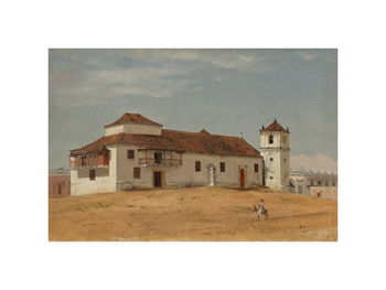 Church in Barranquilla, Colombia Fine Art Print by Frederic Edwin Church