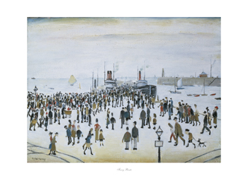 Ferry Boats, 1960 Print by L.S. Lowry