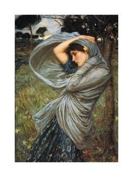 Boreas, 1903 Fine Art Print by John William Waterhouse