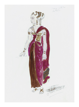 Designs for Cleopatra XLV Fine Art Print by Oliver Messel