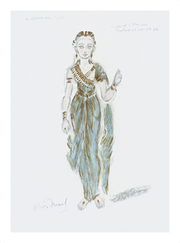 Designs for Cleopatra XLVII Fine Art Print by Oliver Messel