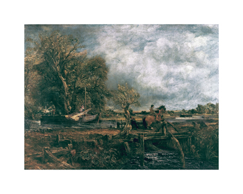 The Leaping Horse, 1825 Fine Art Print by John Constable