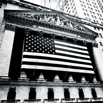New York Stock Exchange Print by Josef Hoflehner