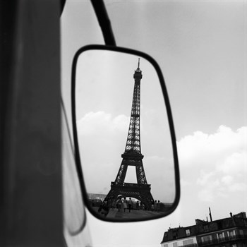 Eiffel Tower Reflection, c1960 Print by Paul Almasy