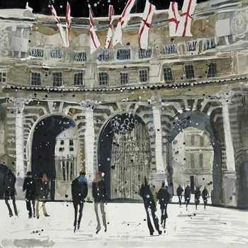 Admiralty Arch, London Print by Susan Brown