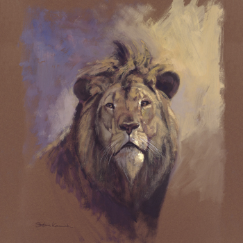 Lion Print by Stan Kaminski