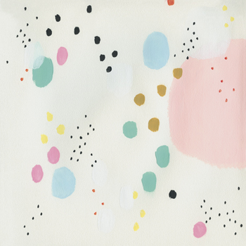 Spatter Canvas Print by Joelle Wehkamp