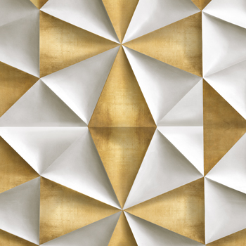Origami Luxe - Fold Canvas Print by Paul Duncan