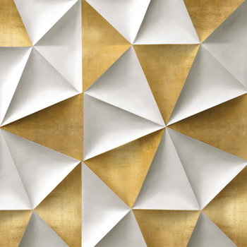 Origami Luxe - Pleat Canvas Print by Paul Duncan