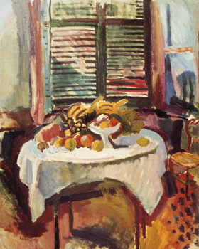 Afternoon Still Life Print by Raoul Dufy
