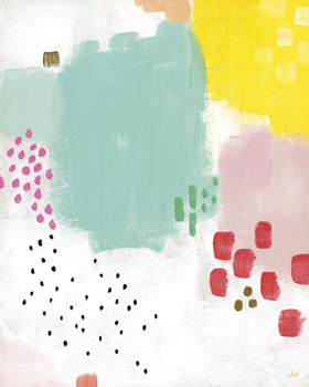 Dots and Colours - Mottle Print by Joelle Wehkamp