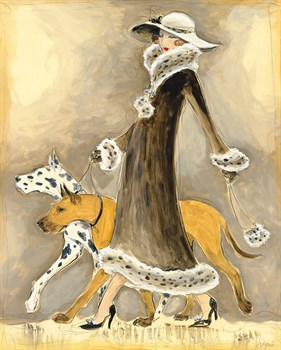 Best In Show - Stroll Print by Dupre
